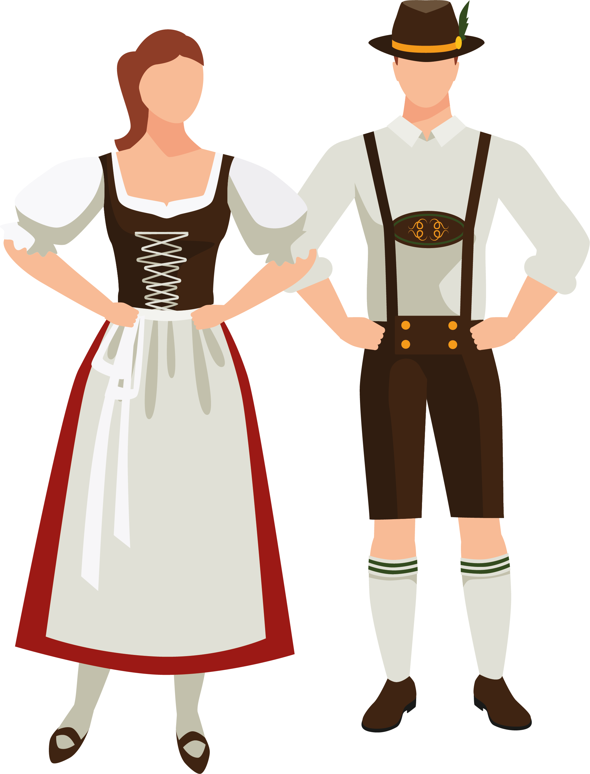 german man and female